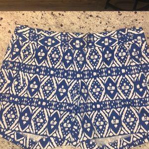 Cute pattern j crew chino shorts!